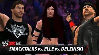 hell in a cell smacktalks vs elle vs delzinski wwe 2k14 online