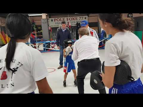 Team Mohamed Dehimi Pôleboxe77  .visite de Mr Louis Vogel au jeunes Melunais