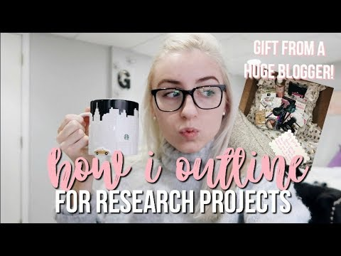 How I Outline Legal Research | Law School Vlog 25