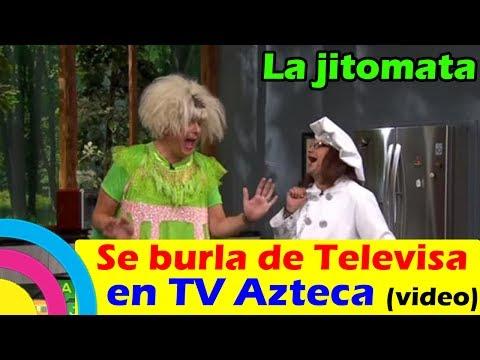 La Jitomata SE BURLA DE TELEVISA en VENTANEANDO de TV Azteca (VIDEO)