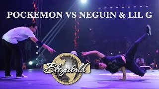 Niggaz & Billy Boy vs Neguin & Lil G | CHELLES BATTLE PRO 2012