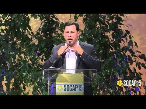SOCAP15 - Brad Duguid, Ontario Ministry of Economic Development, Employment and Infrastructure