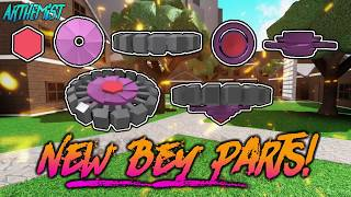 ROBLOX Beyblade: REBIRTH!! | NEW UPDATE!!! NEW BEY PARTS!!! ITS SO COOL!!