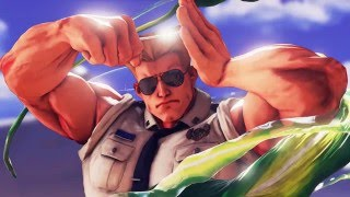 Street Fighter V - Guile Trailer