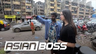 We Spent A Day In The Largest Slum In India | ASIAN BOSS