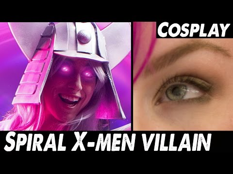 Epic Cosplay Creation: X-Men's SPIRAL - 동영상