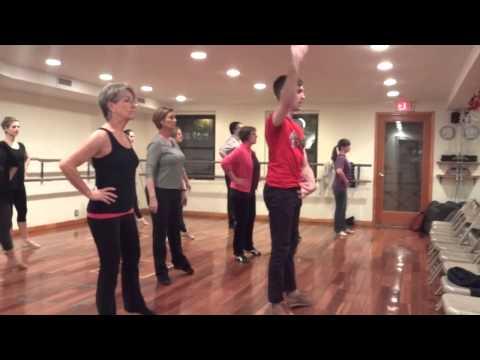 Shakedown Dance Collective Rehearsal