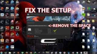 How To Install The Amazing Spider-Man 2-Black Box+SETUP FIX (WORKING 100%)
