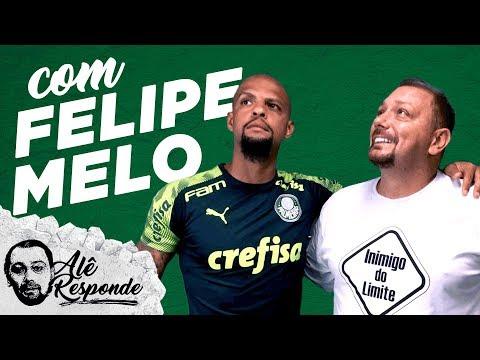 Felipe Melo relembra atritos com Neto e PVC e diz que não assiste mais nada na TV