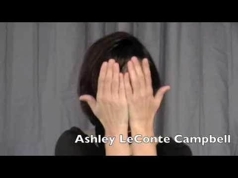 Actor Slate  Ashley LeConte Campbell