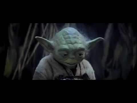 Yoda teaching Skywalker Faith