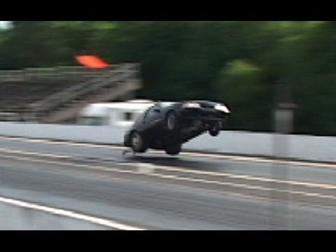 TURBO FORD MUSTANG TAKES FLIGHT!!!