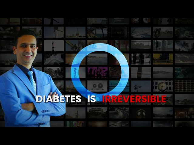 Dr. Pramod Tripathi, founder of Freedom From Diabetes, and a...