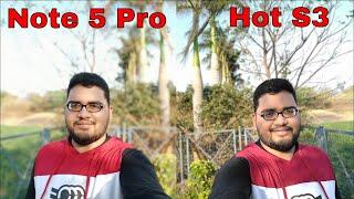 Infinix Hot S3 vs Redmi Note 5 Pro Camera Comparison