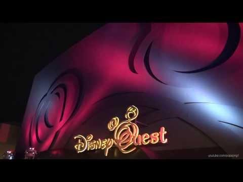 DisneyQuest 2014 Tour and Overview - Walt Disney World - HD - Downtown Disney