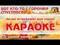 Караоке Quot Вот кто то с горочки спустился Quot Русская Народная Песня mp3