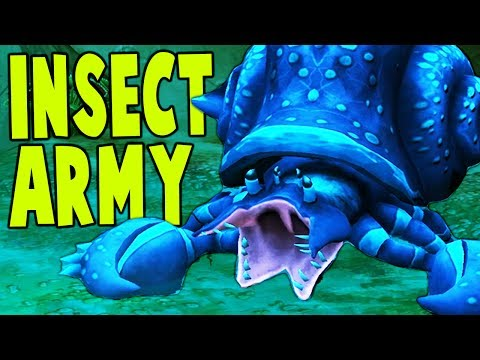 The Hive - ALIEN INSECT ARMY UNDER YOUR CONTROL! - The Hive Gameplay