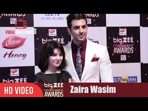 Zaira Wasim at Big Zee Entertainment Awards 2017 | Dangal Girl | #BigZeeAwards