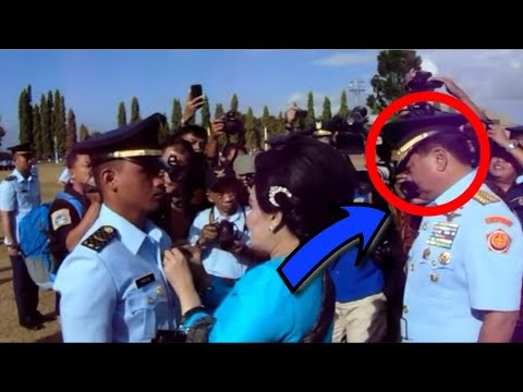 The sad moment was the graduation of the TNI Commander in Chief, Marshal Hadi Tjahjanto
