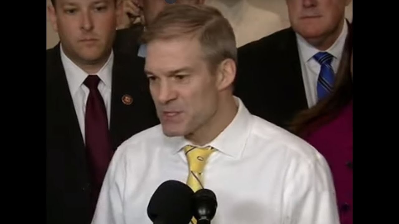"""THIS IS A SHAM"" Jim Jordan UNLEASHED - DEMANDS Hunter Biden to TESTIFY"