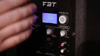 FBT ProMaxX - The new DSP - www.fbtaudio.co.uk