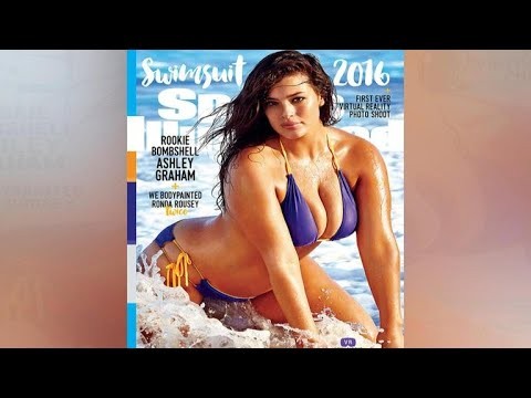 078210d7d5165 Ashley Graham on her Sports Illustrated cover - YouTube