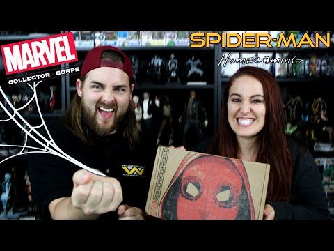 Marvel Collector Corps June 2017 - Spider-man Homecoming