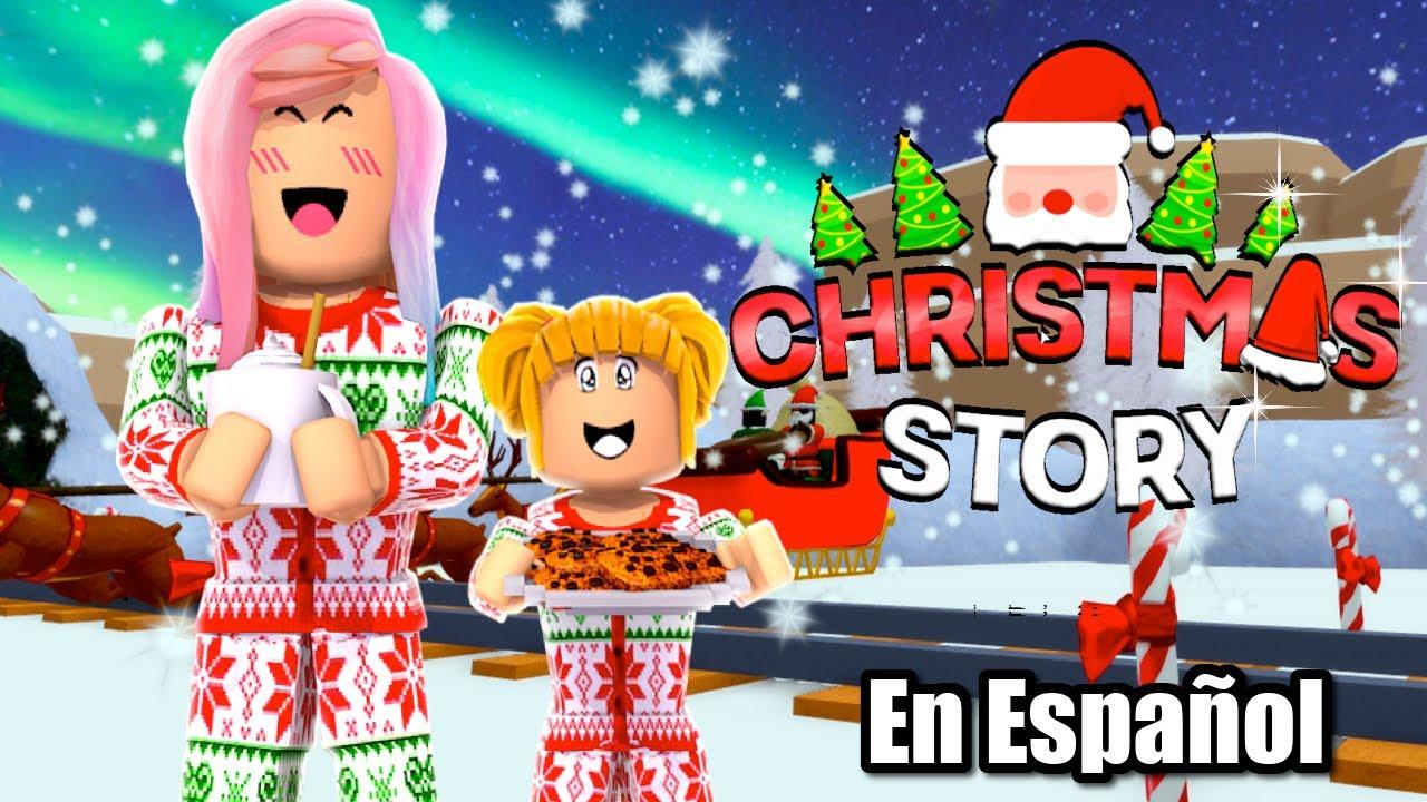 Nuevo! Roblox Historia de Navidad con Titi y Goldie - Christmas Story en Español