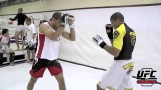 UFC no Combate 2: Hacran Dias, treinando com campeões