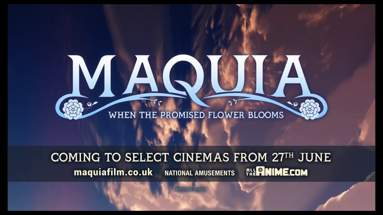 Maquia When The Promised Flower Blooms Official English Trailer