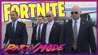 Protect the President in FORTNITE - Party Mode