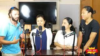 国際結婚の新婚カップルに色々聞いてみた【ハイサイ!Jesus Beat Show!Episode.16】