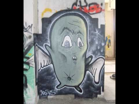 Graffiti project in Kalamata