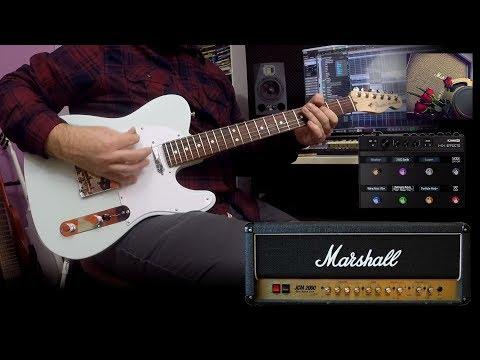 Tele Rock! (Fender American Performer Telecaster & Marshall DSL 50)