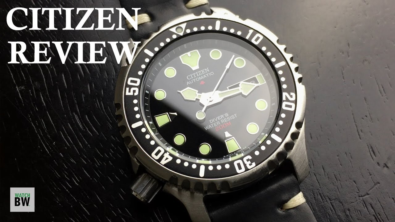 Citizen NY0040 Review - Good Alternative to the SKX - YouTube 1c8a2e5ff12