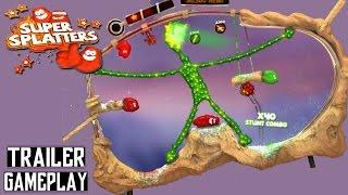 Super Splatters Trailer & Gameplay