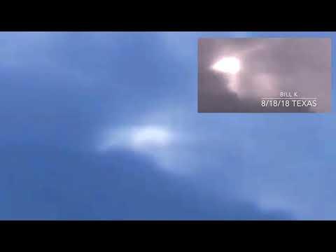 "RARE Sky Phenomenon surprises two Texas men! - ""Bending Light"""
