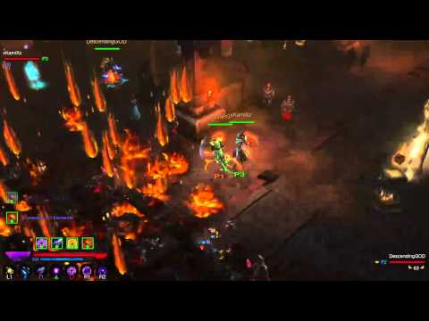 Diablo 3 - Vyr's Wizard Gameplay 1/7/16