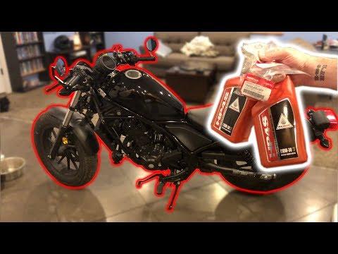 2017 Honda Rebel (300 Only) - Oil Change (How to)