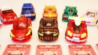 터닝메카드 메카니멀 변신 터닝카 슈팅 플레이 슈마 베노사 알타 피닉스 타돌 킹죠스 윙톡 무간 미리내 Turning MeCard Toys Review 라임튜브