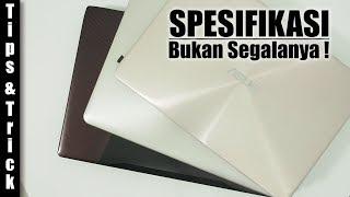 Panduan : Memilih Laptop Intel i7-nya Asus : Zenbook UX410U - FX553V - VivoBook A442U
