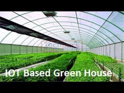 Automated Green House Monitoring & Controlling App Design using Android and IOT