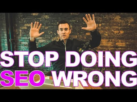 Stop Doing SEO Wrong [super simple fix]