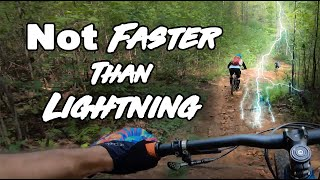 Almost Struck By Lightning with The Singletrack Sampler
