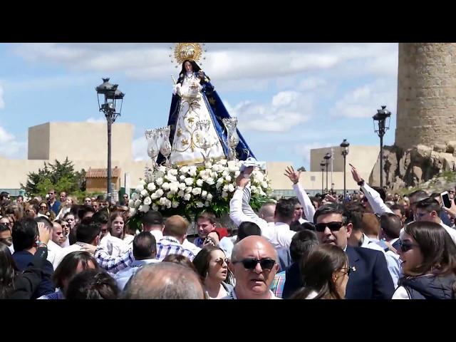 La Virgen de las Vacas baila a ritmo del pasodoble 'El gato montés'