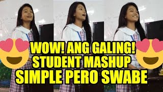 Video Wow! Student Mashup (Roses, Just the Way you are, Closer, Secret Love Song) - PilipinasTV download MP3, 3GP, MP4, WEBM, AVI, FLV November 2017