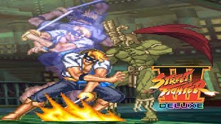 STREET FIGHTER III DELUXE 【MUGEN】 - PC LONGPLAY - PIELLE [NO DEATH RUN] (FULL GAMEPLAY)