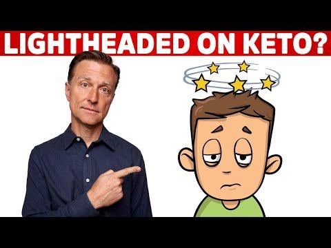 Do You Feel Lightheaded On Keto Diet & Intermittent Fasting? | Dr.Berg