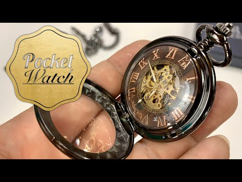 Mechanical Pocket Watch By ManChDa Review