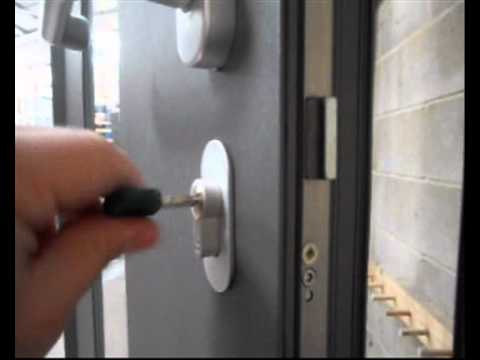 High Security Front Door Locking Youtube